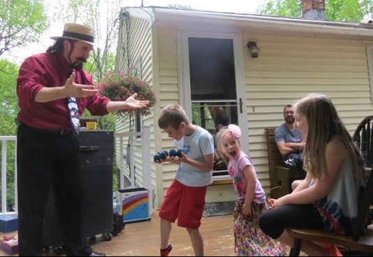 Jaw-dropping magic at a birthday party