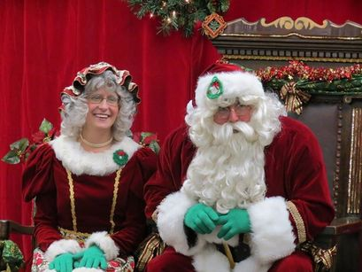 Santa and Mrs. Claus visits available in Southern Maine for daycares and town events
