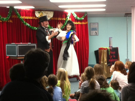 Holiday Magic Shows in Maine, Boston, and New Hampshire